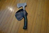First attempt at making hatchet sheath    Bushcraft USA Forums
