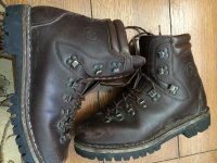 e850e903c69 WTS - - Wenger Traditional Hand made Hiking Boots, Italy 9 1/2M ...