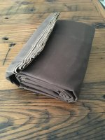 Five yards of Tentsmiths oilskin just arrived. & Tentsmiths oilcloth tarp material question   Bushcraft USA Forums