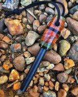 WTS - - Redwood burl with micarta ferro rod | Bushcraft USA