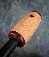 WTS - - 3/8 sycamore and micarta ferro rod | Bushcraft USA