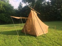 The exploreru0027s tent is a modified version of what Kephart called a u201cSnow tent.  The Snow tent was designed as a roomy yet lightweight tent with superior ... & Vintage Abercrombieu0027s Camp Exploreru0027s tent | Bushcraft USA Forums
