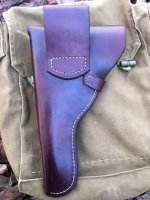WTS - Ruger Mk I/II/III/IV Leather Flap Holsters | Bushcraft USA Forums