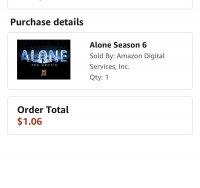 Alone season 6/Mountain Men season 8 are $1 on Amazon right